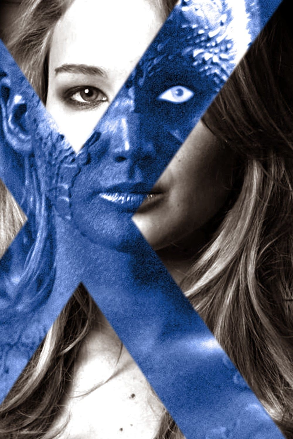 Jennifer Lawrence Mystique X-Men Days of Future Past movieloversreviews.filminspector.com