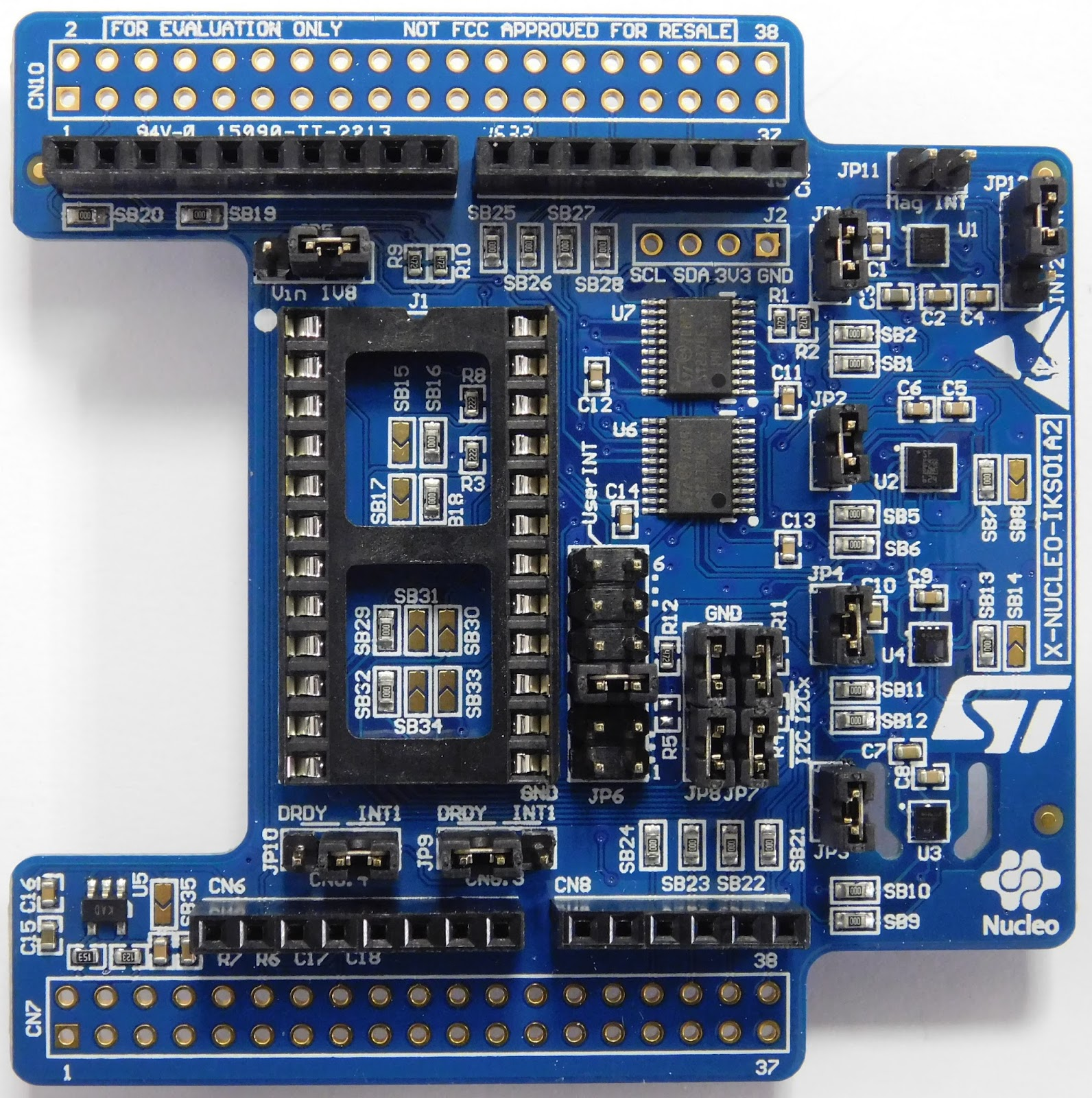 DutchMcGyver's Multiverse: The STM32 LoRa Discovery kit: adding sensors
