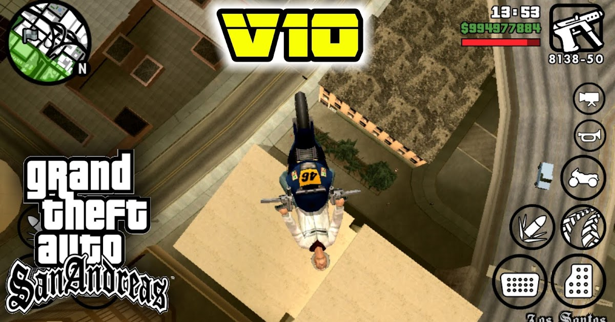 GTA San Andreas Lite V10 Download For All GPU apk+data