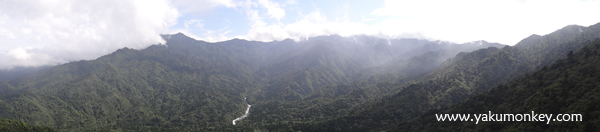 Mountains from Taikoiwa Rock
