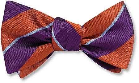 Barrow bow tie from Beau Ties Ltd.