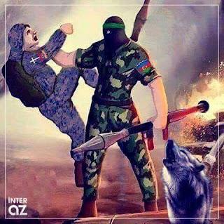 Azerbaijan soldier
