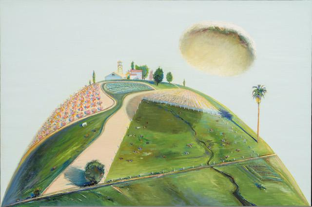 - ART & ARTISTS: Wayne Thiebaud (landscapes)