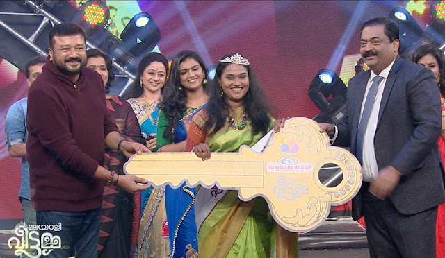 Winners of Malayali Veettamma Grand Finale on Flowers TV
