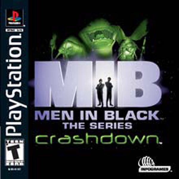 Men In Black - The Series - Crashdown - PS1 - ISOs Download