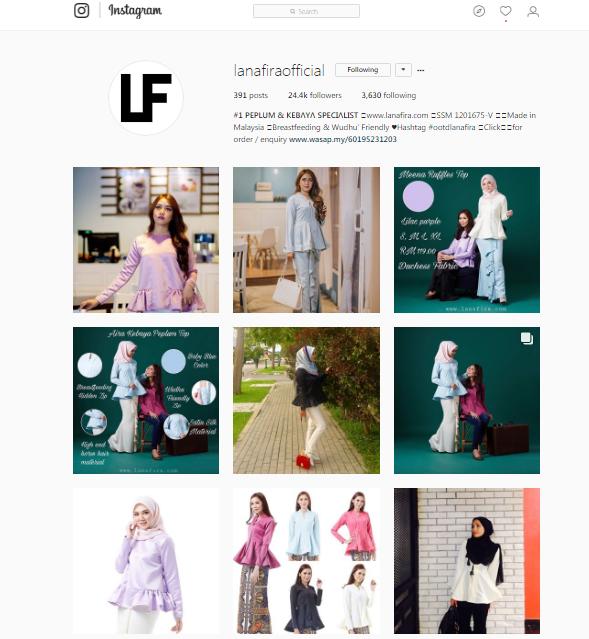 Lanafira Instagram