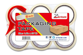 Packing Tape for Moving with Dispenser