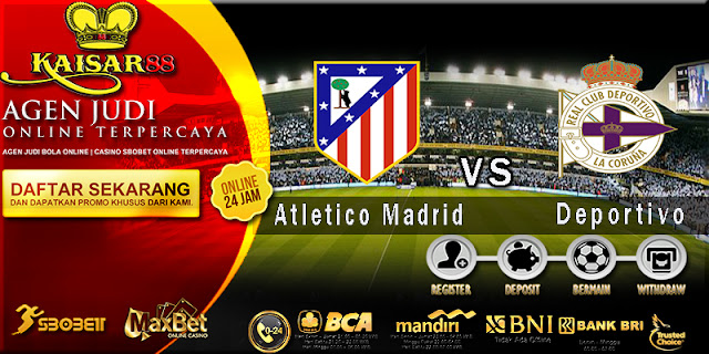 Prediksi Bola Jitu Atletico Madrid vs Deportivo La Coruna 2 April 2018