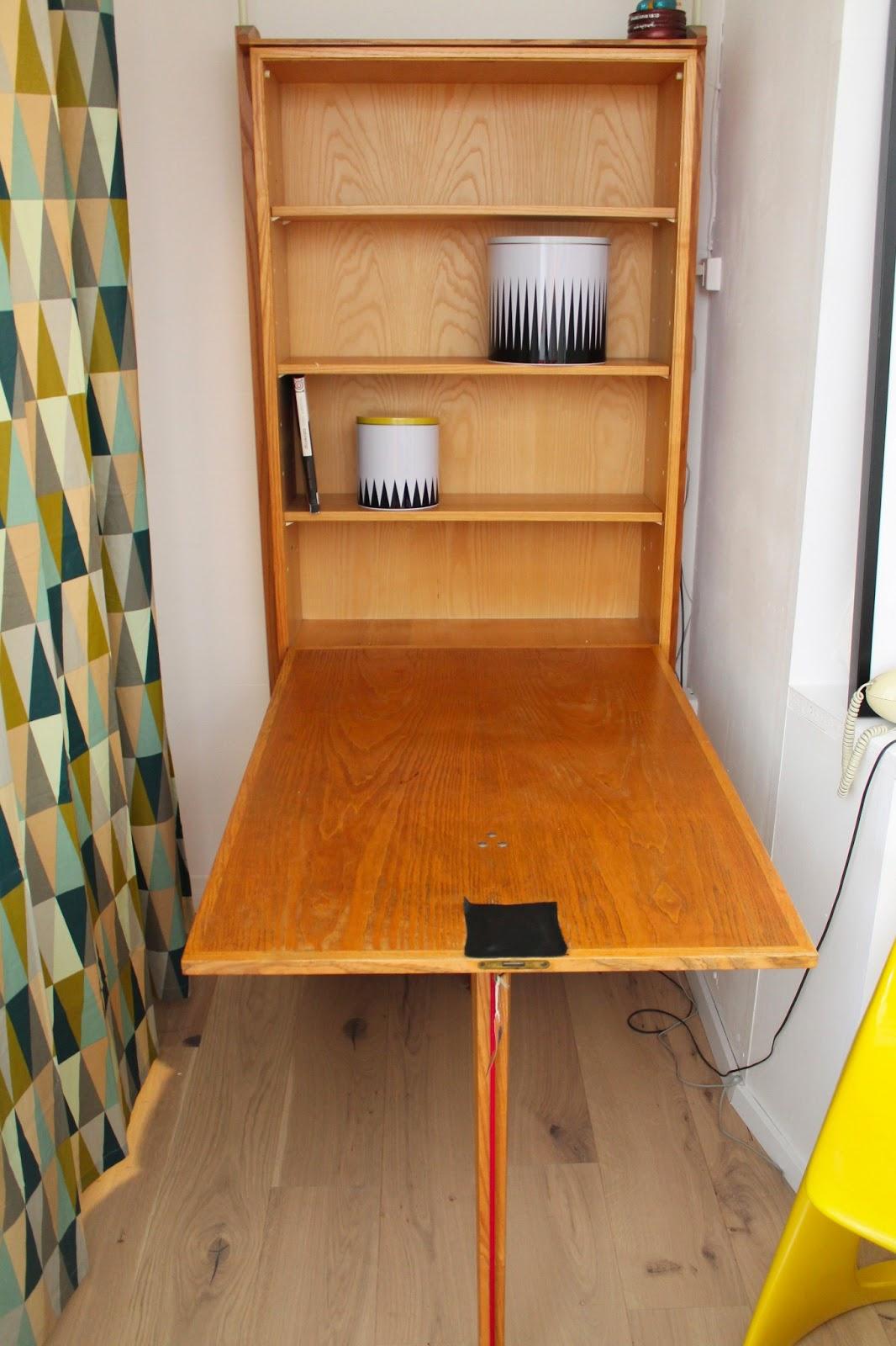 wandb ro wandpult victoria m bel 60er jahre rar. Black Bedroom Furniture Sets. Home Design Ideas