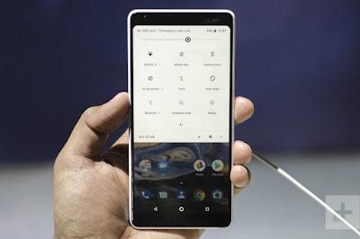 Nokia 7 plus double back camera