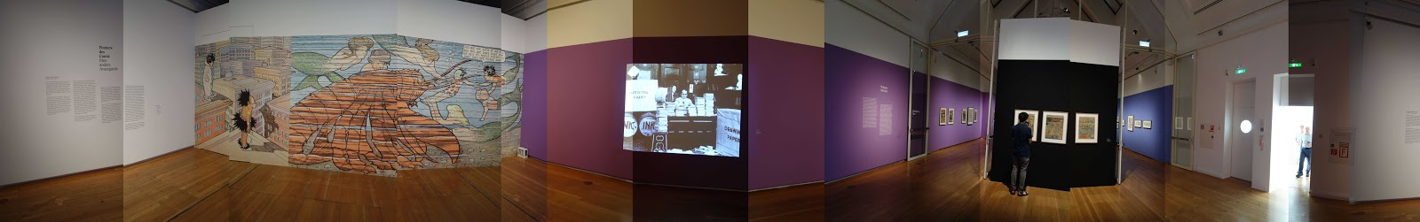 The Exhibition At Schirn Kunsthalle In Frankfurt Am Main Germany Upon Entering Starts With First Winsor McCay Animation