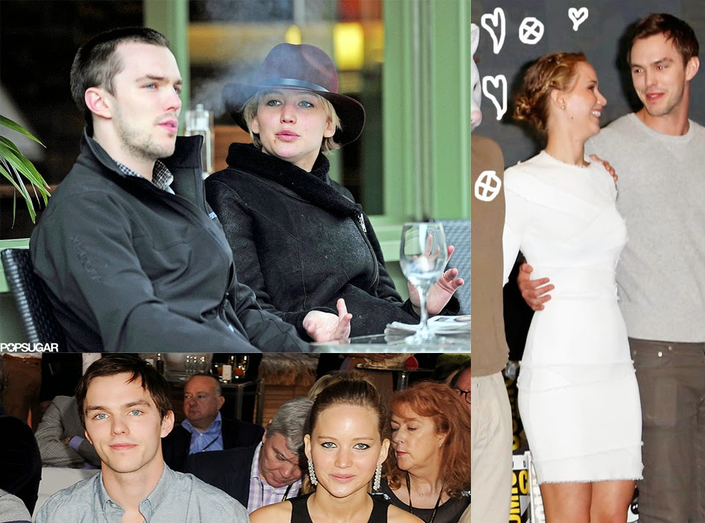 jennifer lawrence engaged to nicholas hoult