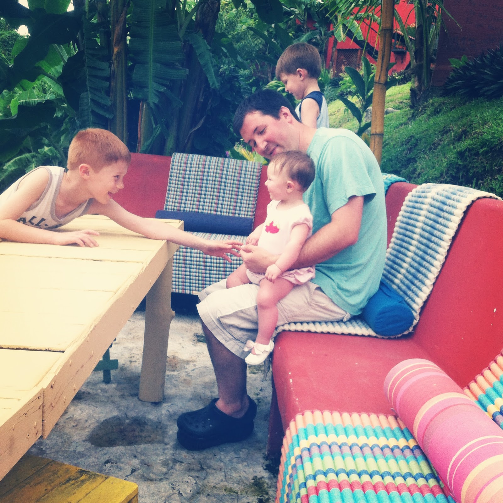 Kids Vacation in Costa Rica Arenal