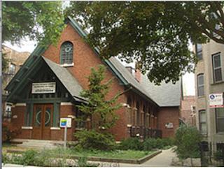 interior of Second Unitarian Church in Chicago