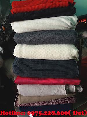vải khúc nỉ hàn quốc may áo khoác giá rẻ tại biên hòa