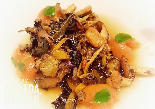 bolets amb nyoquis de moniato