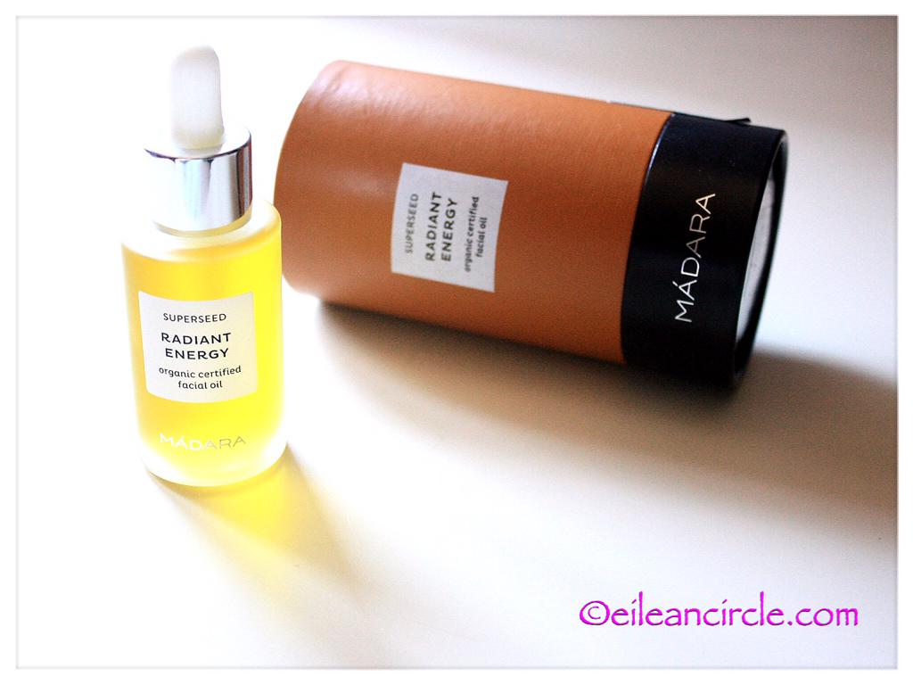 MÁDARA, facial oil, cosmética natural