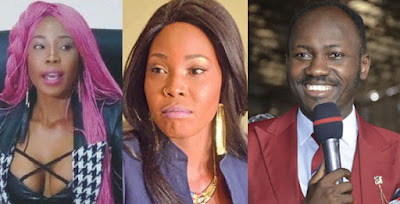 """Stephanie Otobo confesses: """"I was used and paid against Apostle Suleman"""" - Watch"""