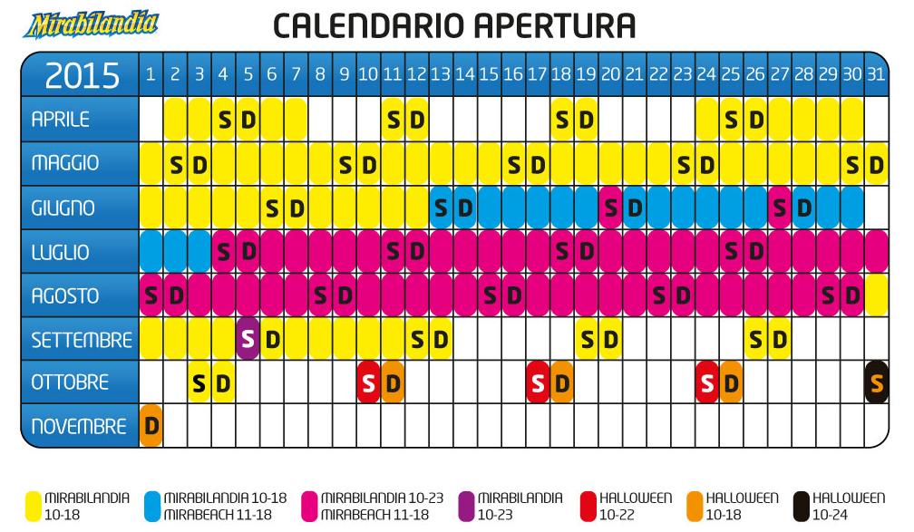 Calendario Mirabilandia.Mirabilandia Sconti E Promozioni