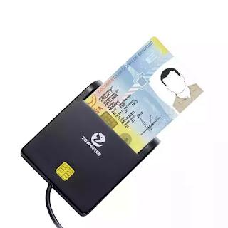Leitor de Cartões de Identificação Eletrônica