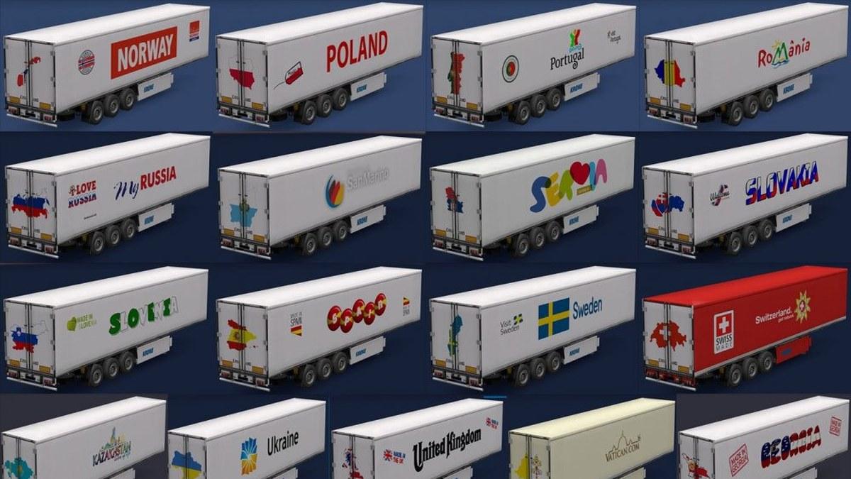 All European Countries Trailers