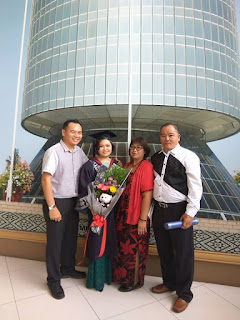 My life diary; titi peluh perjalan belajar part time; Open University malaysia; Menara Gading; OUM KK; gambar convo; Gunung kinabalu; belajar secara part time; Shaklee Labuan
