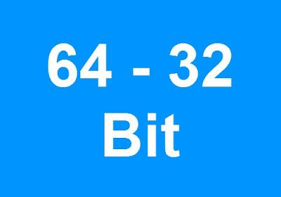 كيفية معرفة جهازك نواة 64 أم 32 في جميع نسخ الويندوز ؟