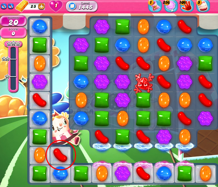 Candy Crush Saga 1445