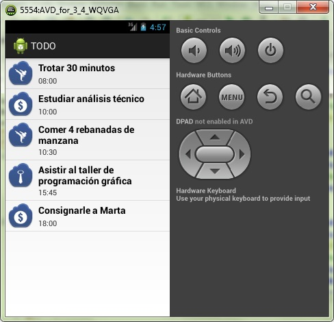 Aplicación Android con un ListView e ImageView