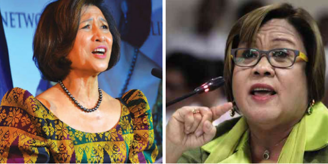 Netizen reveals involvement of Loida Nicholas-Lewis in De Lima's international award