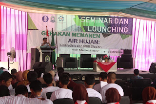 Foto Kegiatan Seminar Gerakan Memanen Air Hujan