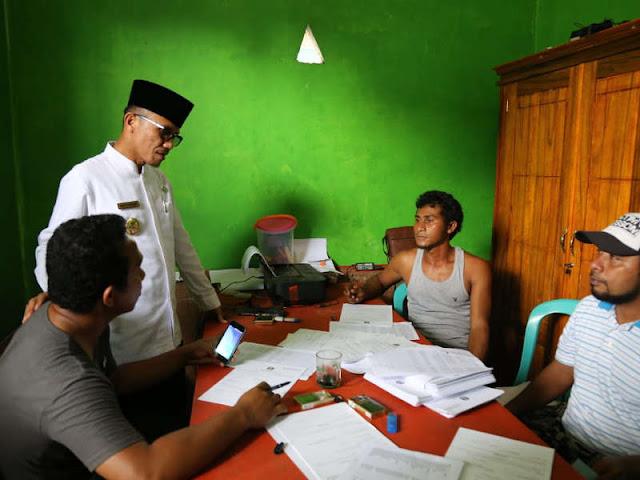 Jelang Pilkades Halmahera Selatan, Iswan Hasjim Monitor Kecamatan Kayoa dan Makian