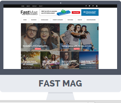 fast magz blogger template