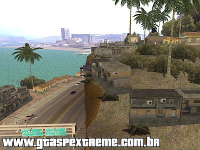 Favela do Rio de Janeiro - Slum para GTA San Andreas