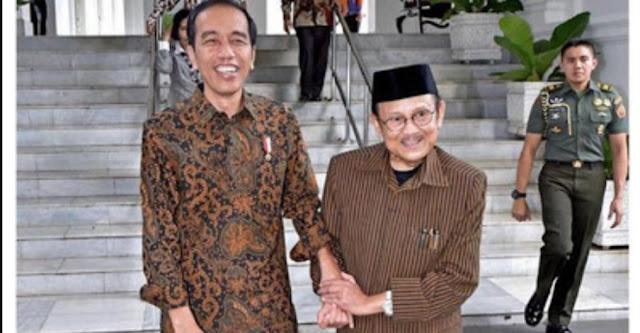 Habibie: Jokowi Sudah Seperti Anak Saya, Saya Mencintainya, Ia Teguh Dalam Niat Baik