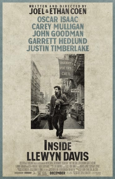Inside Llewyn Davis, Directed by the Coen Brothers