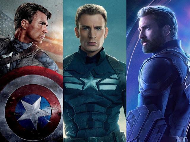 Evolución de Chris Evans como Capitán América en las películas de Marvel