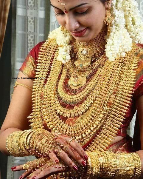 Kerala Wedding Bridal Images: Indian Kerala Bridal Jewellery Collection 30