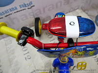 Sepeda Roda Tiga PMB 919 Safari Klakson Police