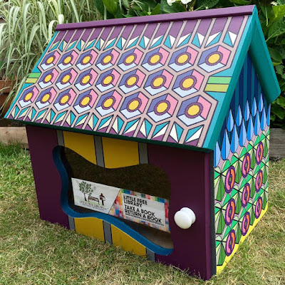 Striking Little Free Library in Thundersley Essex by Kiko Honda Powell