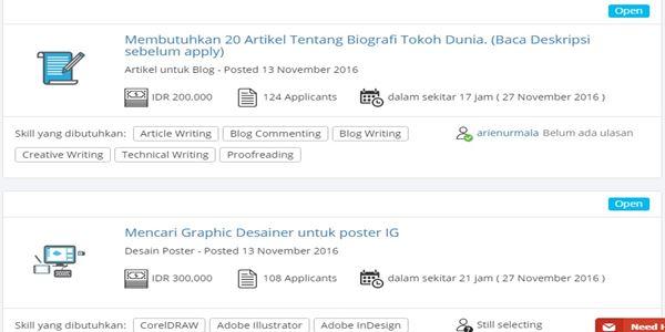 kerja online indonesia