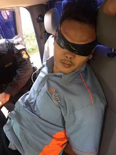 peneror presiden jokowi ditangkap di penggung