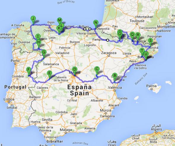 norte de espanha turismo mapa Turismo sem Clichê: 10 roubadas na Espanha (e como você pode evitá  norte de espanha turismo mapa