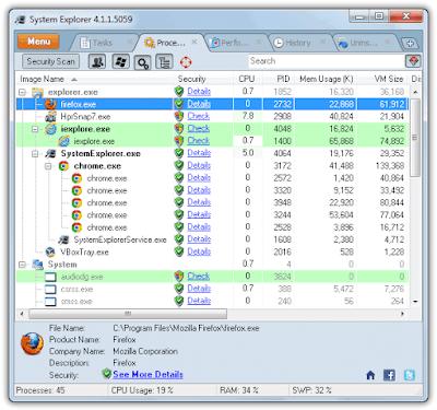System Explorer 4.1.1.5029