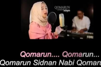 Lirik Sholawat Qomarun Sidnan Nabi Lengkap Terjemahan Artinya Vocal Nisya Syaban