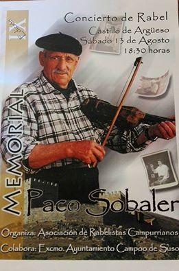 Concierto de Rabel en el IX Homenaje a Paco Sobaler en el Castillo de Argüeso