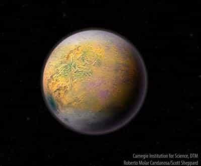 Ανακαλύφθηκε ουράνιο σώμα στα άκρα του ηλιακού μας συστήματος