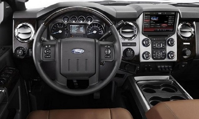 2017 Ford F 450 Platinum Interior