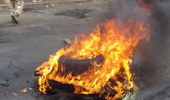 Irate residents attack Salt factory in Volta Region