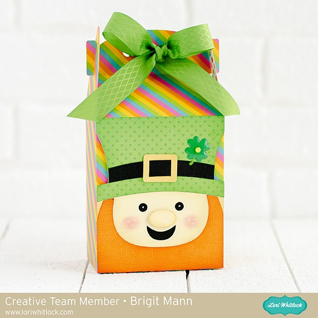 Leprechaun Gable Box - Lori Whitlock Creative Team Project